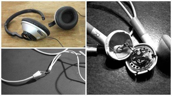 why headphones break